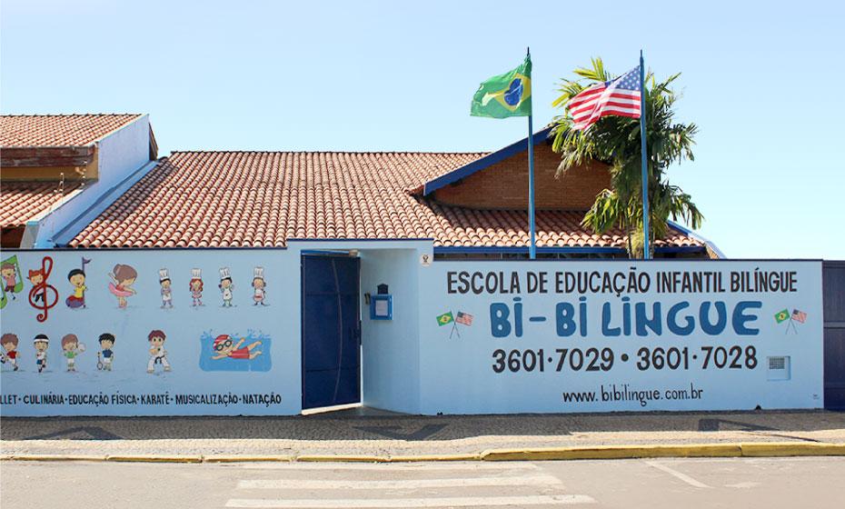 Estrutura - Escola de Educação Infantil Bi-bilíngue
