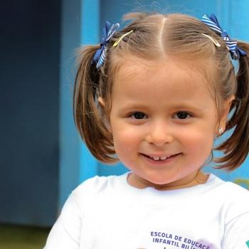 Aluna Escola de Educação Infantil Bilíngue